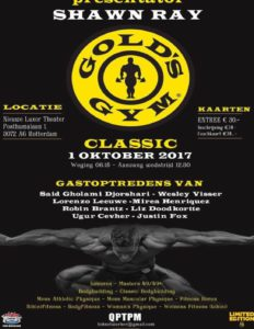 RUNNING ORDER GOLDS GYM CLASSIC 2017